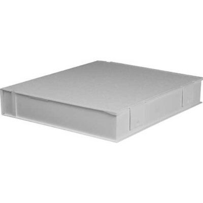 """Besfile Archival Binder With Rings 11-5/8 x 10-1/4"""", White"""