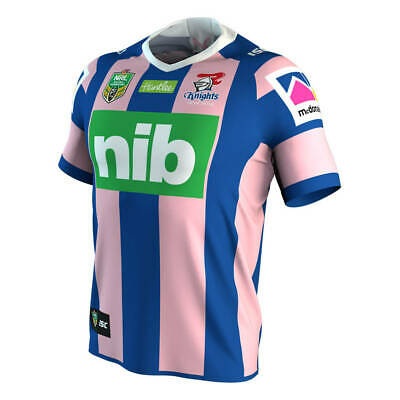 Newcastle Knights 2018 WIL Jersey Men's Large & Women's 8 - 14 NRL ISC SALE