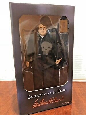 "Neca Guillermo Del Toro 8"" Action Figure Sdcc 2018 Comic Con Exclusive New"