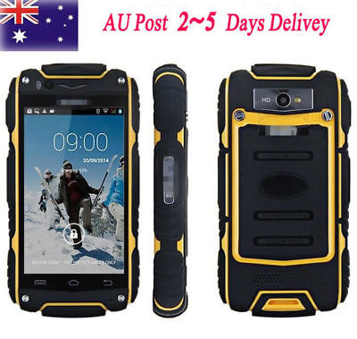 Rugged 3G Android Smartphone Discovery V8 Dual Core Unlock Outdoor Cell Phone AU