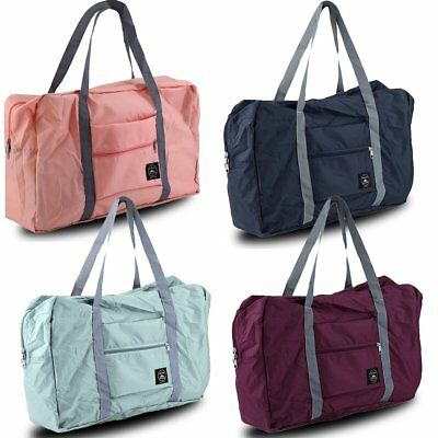 Foldable Storage Bag Waterproof Luggage Bag Travel Shopping Bag Men Women K@