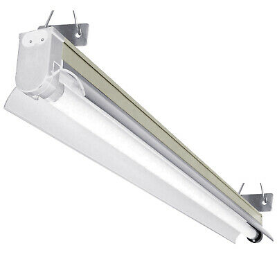 Hydroponics T5 Light Fixture single tube 54w 4ft - growing indoor grow with bulb
