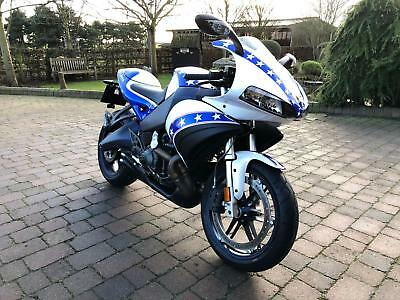 Buell 1125R 25TH ANNIVERSARY 2009 ONLY 612 MILES STUNNING PAINT