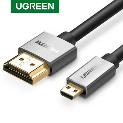 Ugreen Micro HDMI to HDMI Cable Adapter 4K High Speed for HDTV XBox GoPro Hero 6