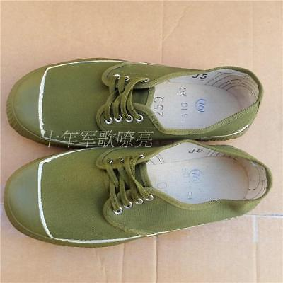 Surplus Chinese Army Pla Type 65 Liberation Shoes Training Boots Size 270