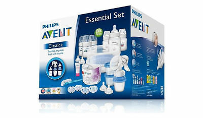 The Philips Avent Classic Plus Essentials Newborn Set