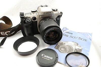 Canon EOS 50 Eye Control SLR with 28-90mm USM zoom lens, excellent fully working