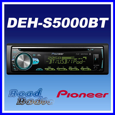 Pioneer DEH-S5000BT CD MP3 Bluetooth Car Stereo USB iPod iPhone Android Spotify
