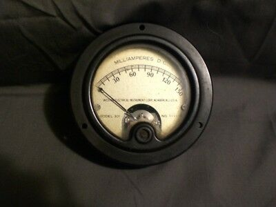 Vintage Milliamp meter DC model 310