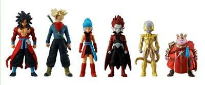 BANDAI Super Dragon Ball Heroes Skills Figure 02 All 6 type set JAPAN OFFICIAL
