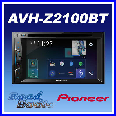 Pioneer AVH Z2100BT 2-Din Touch Multimedia Player│Bluetooth/MP3/USB/iPod/iPhone