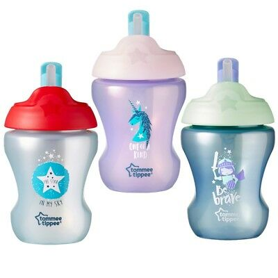 Tommee Tippee  Straw Cup 7m+ CHOICE OF DESIGN BOY/GIRL (A109)