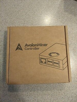 Canaan AvalonMiner 741 841 Controller with Power Cord Brand New In Box bitcoin