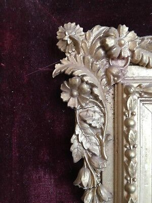 Exceptional Quality Silver Gilt Scrolled Photo Frame, picture of English Lawyer