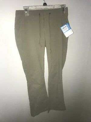 NWT Columbia ANYTIME OUTDOOR™ Boot Cut PANT - size 4 - Khaki retail $75