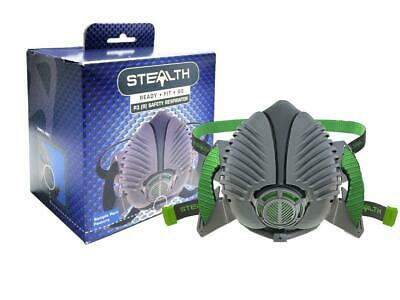Stealth Reusable Half Mask P3 Safety Respirator for Dust Welding and Liquid