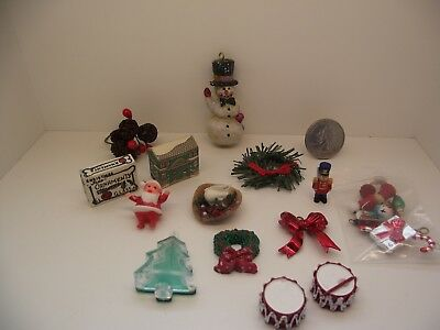 1:12 Scale Miniature Dollhouse Mixed Assorted Lot #12 Christmas Nutcracker Drums