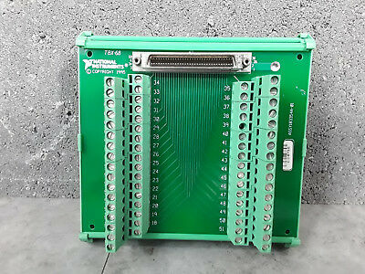NI National Instruments TBX-68 Terminal Block Assy 183354A-01 #