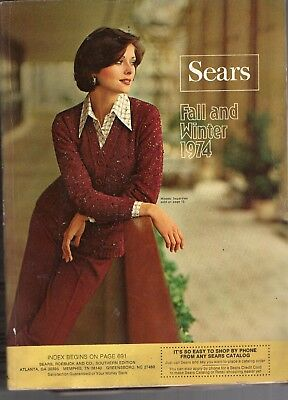 1974 Sears Fall & Winter Catalog-Complete-1560 Pages-Very Rare