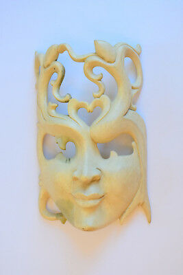 Bali Abstract Mask Wood Carving Bali Wall Decor Art