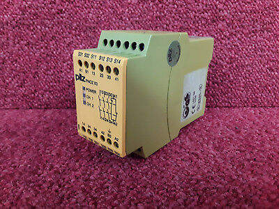 Pilz Safety Interlock Relay PNOZ X3 24VAC/24ACDC 3n/o 1n/c 1so *