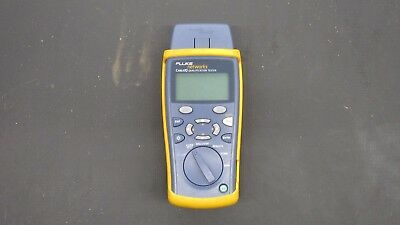 Fluke Networks CableIQ Qualification Tester with Paperwork, Cables and Soft Case