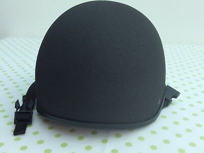 Charles Owen Ultralight Euro Riding Hat with Black Silk Cover Size 0 1/2 54