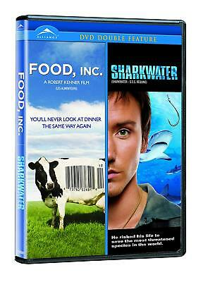 DVD DOUBLE FEATURE Food, Inc. / Sharkwater -Brand New - VG-A118381DV(VG-147)