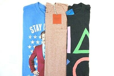 40834331d989f4 NWT Kohl s Target Lot of 3 Men s Anchorman Playstation Graphic T-Shirts  Large
