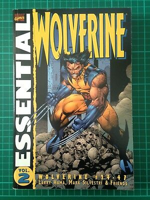 Marvel Essential Wolverine Vol. 2 by Larry Hama and Mark Silvestri.