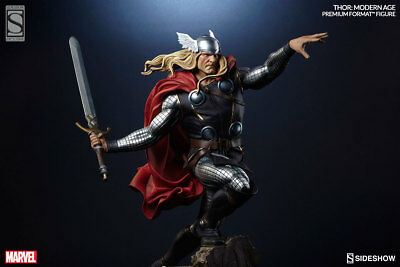 Sideshow Collectibles Modern Thor W/ Sword Premium Format Exclusive Statue #/750