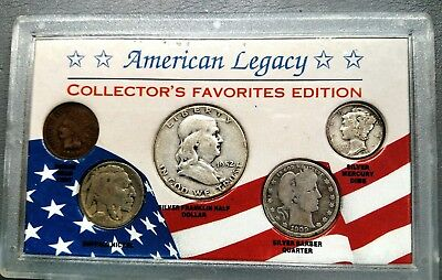 American Legacy Collector's Favorite Edition 5 Coin Set NOW $20 OFF-FREE RETURNS