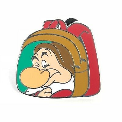 Grumpy Backpack Magical Mystery Pins Series 12 Snow White Disney Pin
