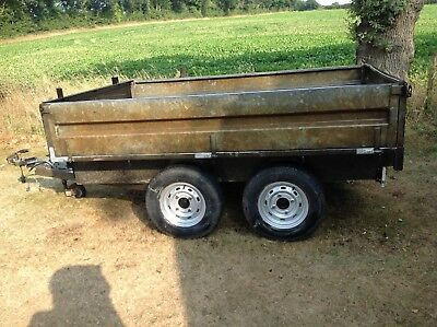 Page trailer twin axle. 2 tonne