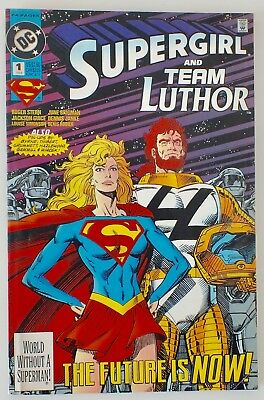 Supergirl and Team Luthor - Issue # 1 - DC - 1993 - 64 pages - VF (577)