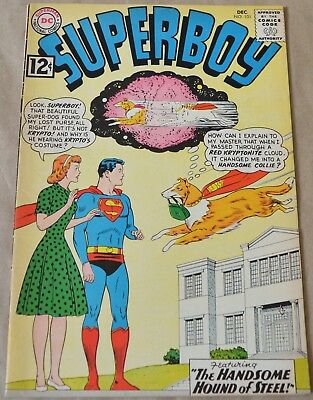 Superboy #101 (Dc, 1962) Krypto Appearance. Silver Age