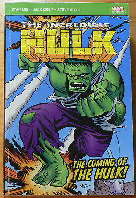 Marvel Pocketbook: The Coming of the Hulk (Panini, Paperback, 2004)