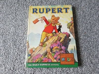 Rupert annual 1964 x in good condition x 62 x