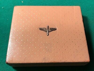 Vintage Original Ww2 U.s. Army Air Corps Px Sweetheart Pendant Box Wwii