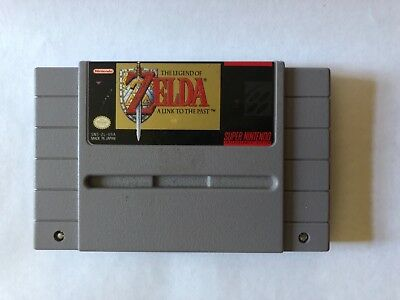 THE LEGEND OF ZELDA A LINK TO THE PAST Super Nintendo SNES Game AUTHENTIC OEM