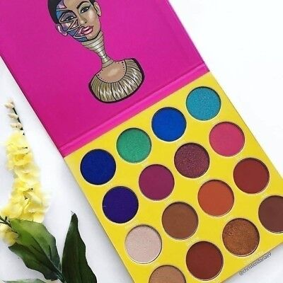 MASQUERADE Mini Eyeshadow Palette by JUVIA'S PLACE 100% Authentic