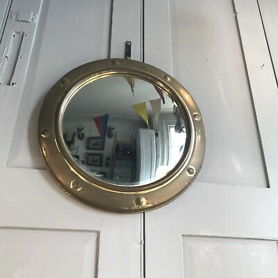 Antique vintage convex wall mirror Art Deco Style
