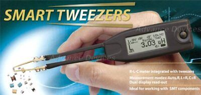 Smart Tweezers ST5-ST51AD PRO LCR Multimeter Complete Set and Extra lead Tips