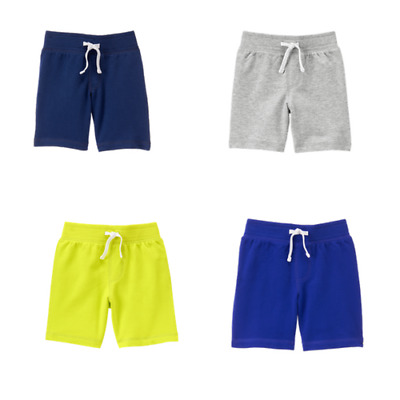 Crazy 8 by Gymboree baby toddler boys knit shorts multiple color & size options