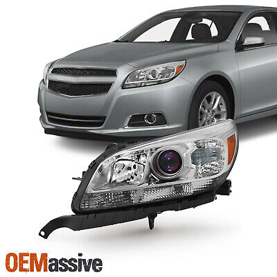 Fit 2013-2015 Chevy Malibu LT LTZ Driver Side Projector Headlights Replacement