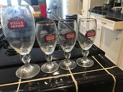 stella artois glasses