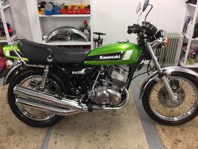 KH250 b4 fully restored to outstanding condition