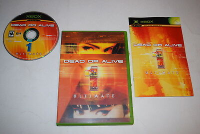 Dead or Alive 1 Ultimate Microsoft Xbox Video Game Complete