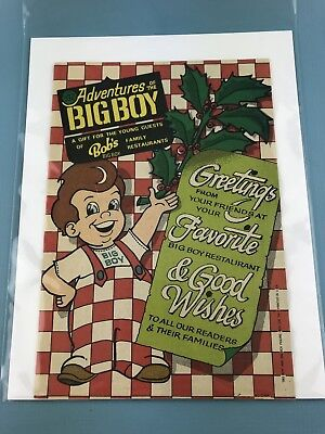 VINTAGE Adventures of the Big Boy #332    Restaurant Giveaway Comic PROMOTIONAL