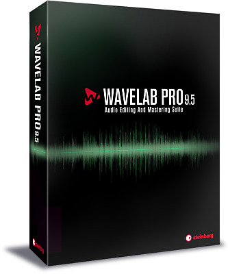 New Steinberg WaveLab Pro 9.5 Audio Editing & Mastering Suite Software eDelivery